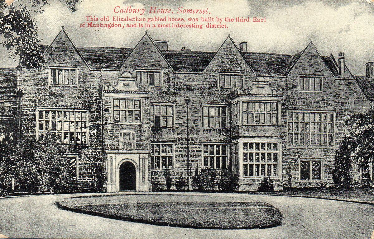 North Cadbury Court c1910 ©The Baron de Newmarch Collection