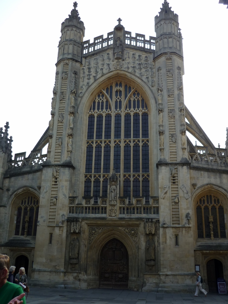 Bath Abbey front view
