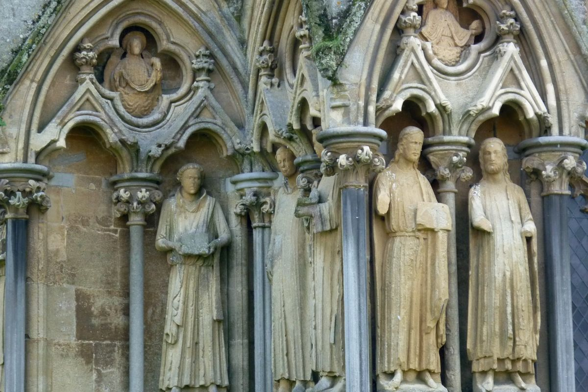 Wells Cathedral Figures